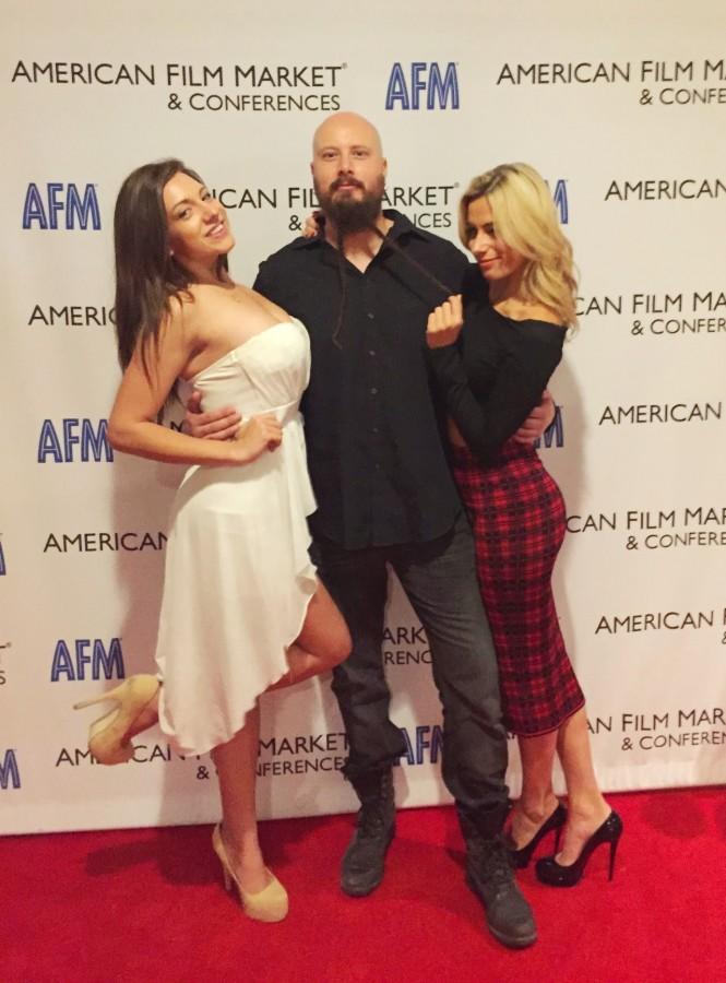 American Film Market 2014 AFM Jes Selane, Joanna Pallante and Rachel Nunez Handzlik