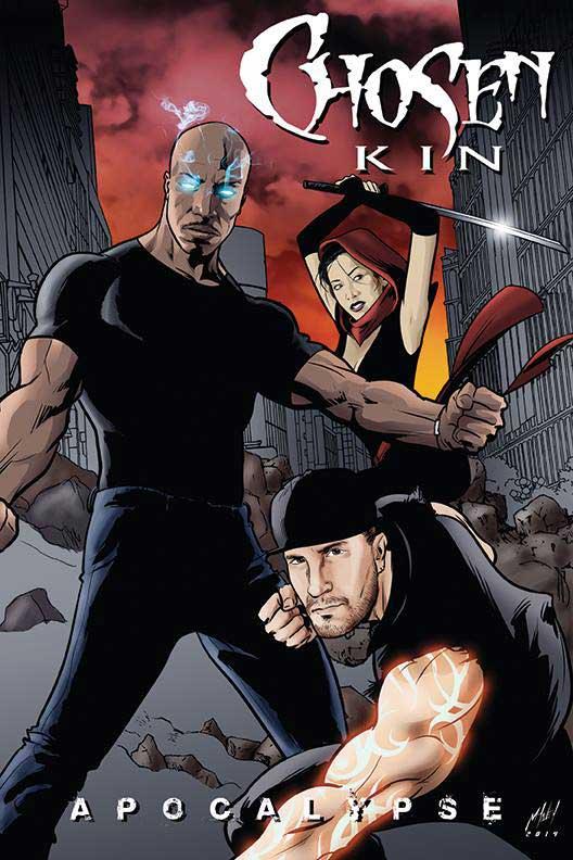 Chosen Kin iSpark Productions Poster