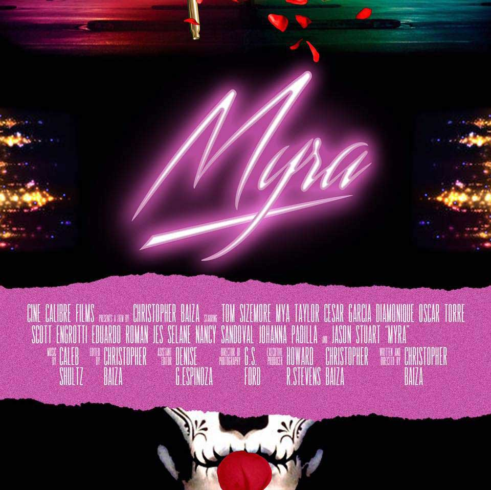 Myra Movia by Christopher Baiza Poster